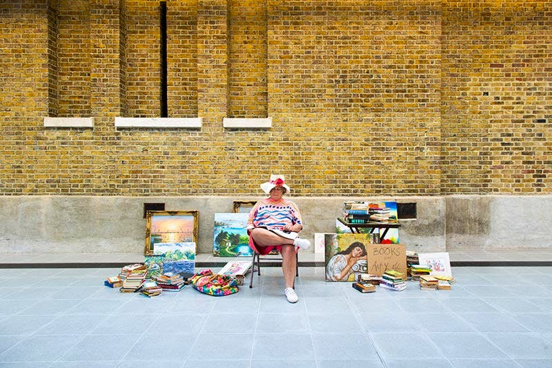 (1990/94), Duane Hanson. Installation view, Serpentine Sackler Gallery