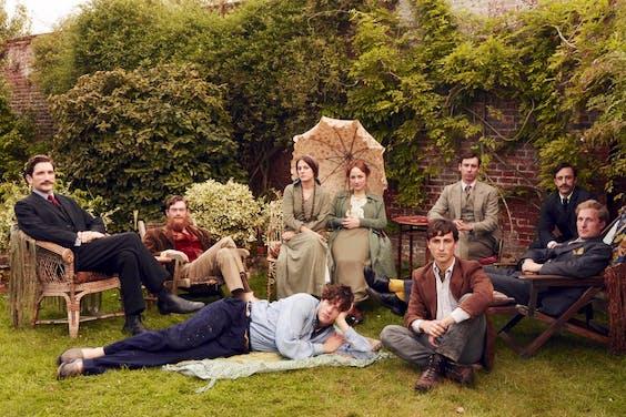 A wild Bloomsbury picnic