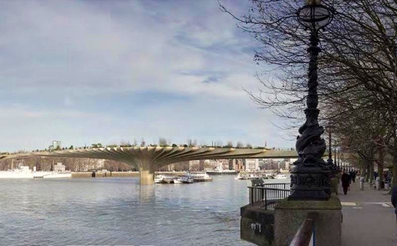 A Folly for London seeks absurd alternatives to the Garden Bridge