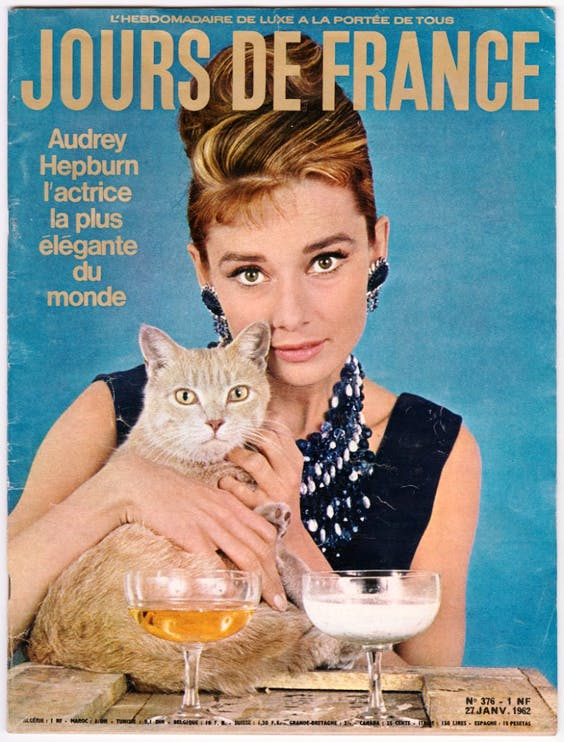 by Howell Conant, published on the cover of Jours de France, 27 January 1962