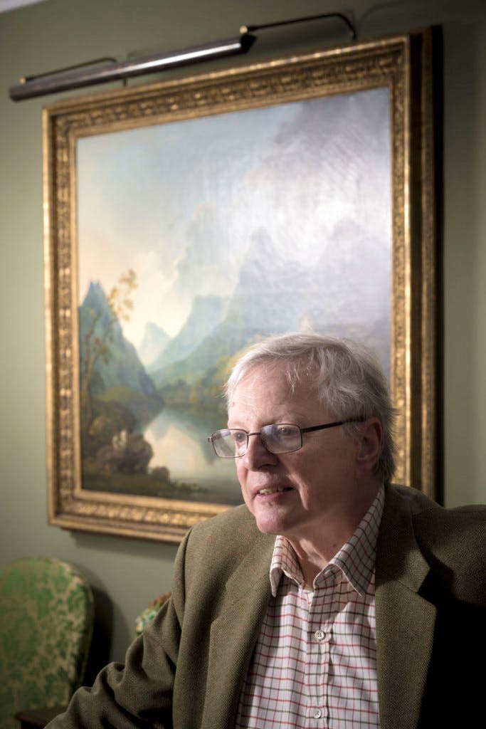 Jonathan Ruffer, photographed in Auckland Castle, County Durham, in October 2014