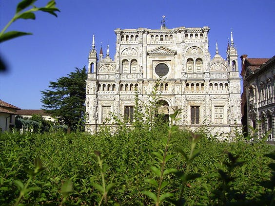 The Certosa di Pavia gets €7million of investment via Italy's of the 'Art Bonus' law