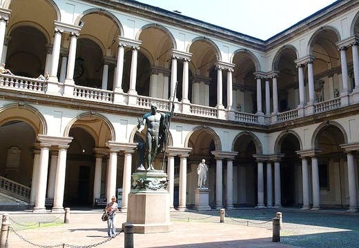 Cold weather forces precautionary measures at Pinacoteca di Brera