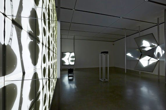 Installation view: 'Josiah McElheny: Some Pictures of the Infinite' (22 June–14 October 2012), Institute of Contemporary Art, Boston.