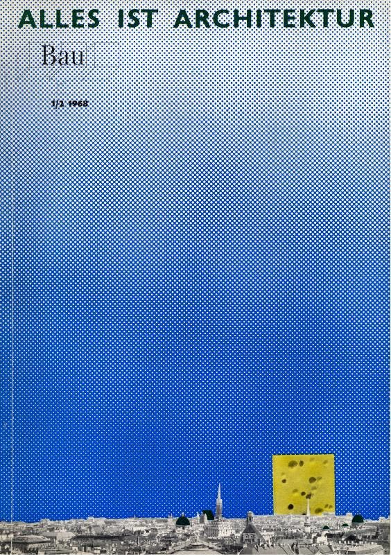 issue 1/2, 1968. Published by Zentralvereinigung der Architekten Österreichs.