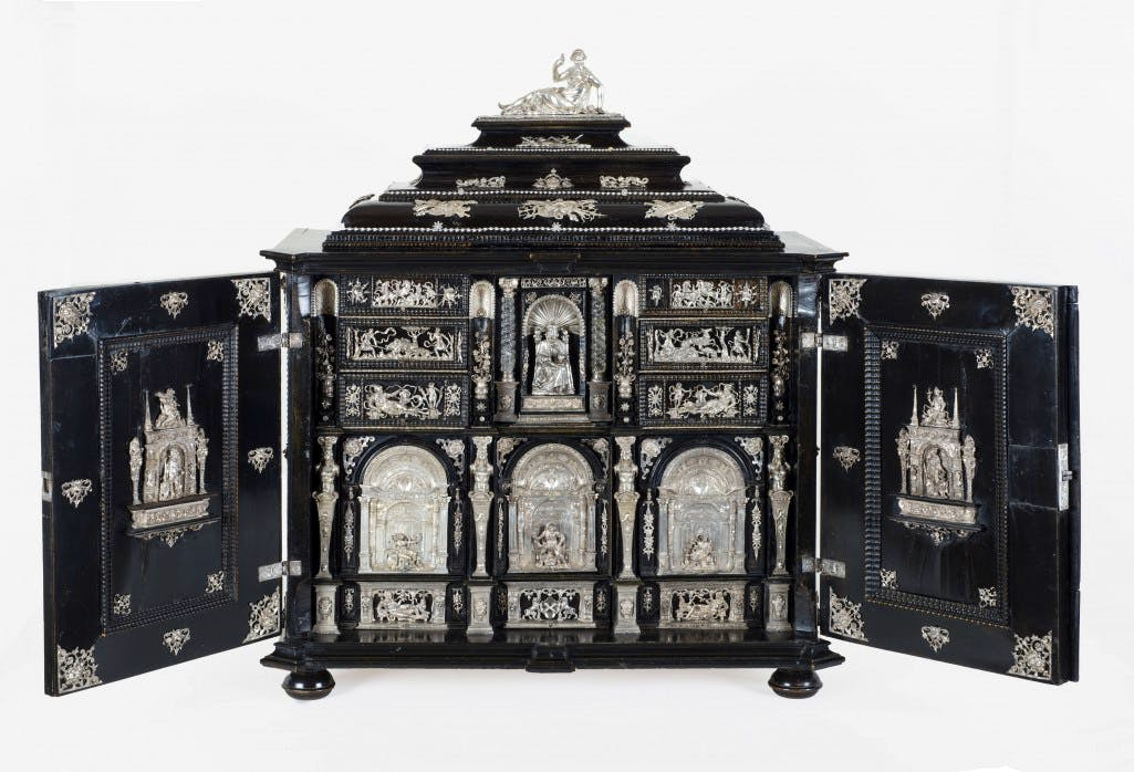 Cabinet, c. 1620 German, Nuremberg Follower of Christoph Jamnitzer, German, 1563–1618