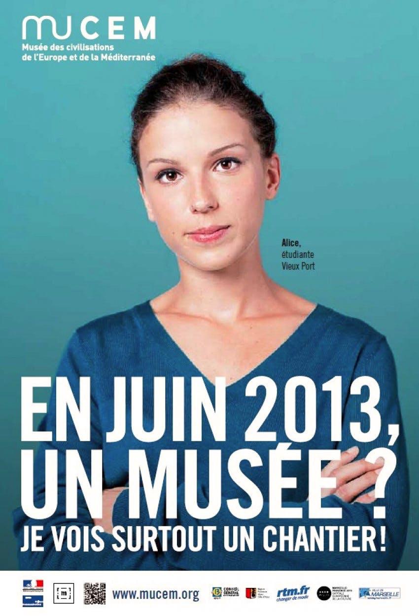Pre-launch advertising campaign, Marseilles