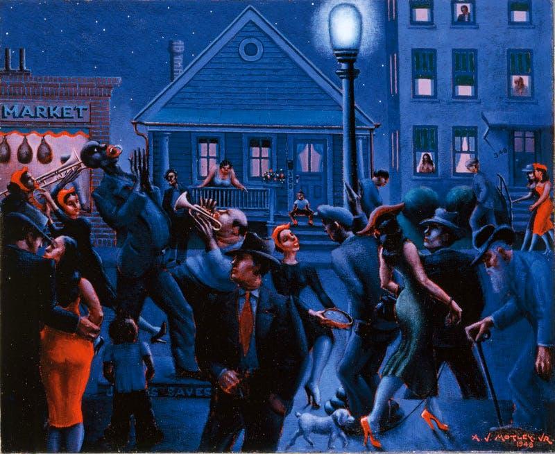 (1948), Archibald J. Motley Jr.