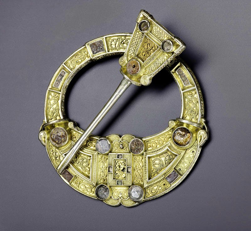 (, AD 700–800), Silver, gold and amber, Hunterston, south-west Scotland