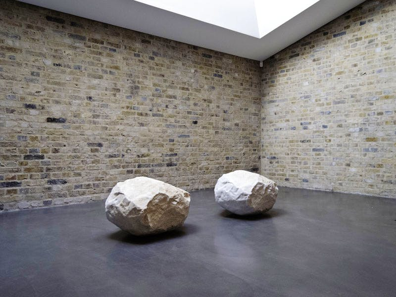 (2000), Giuseppe Penone. Installation view, Whitechapel Gallery, London 2012