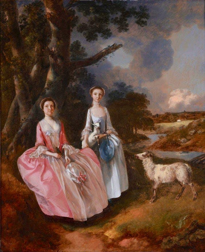 (c. 1752), Thomas Gainsborough.