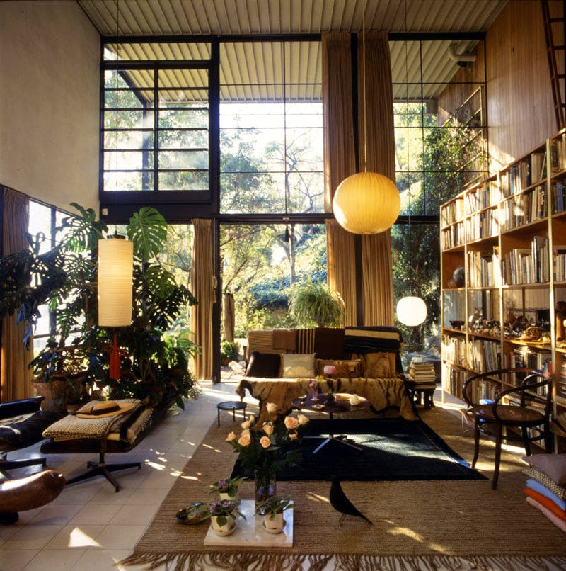 Eames House Living Room.