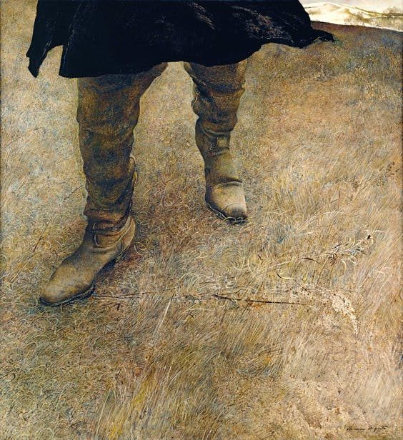 a critical analysis of the art by andrew wyeth