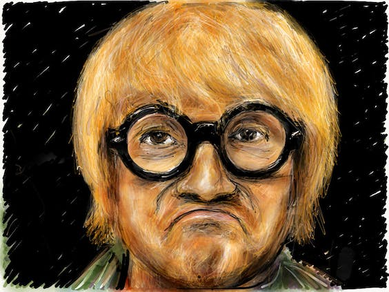 David Hockney, for his part, thinks the BGLA tag is 'newspaper stuff'. Source : Wikimedia Commons