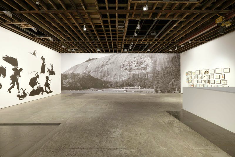 'Kara Walker | Go to Hell or Atlanta, Whichever Comes First' installation view at Victoria Miro Gallery, London.