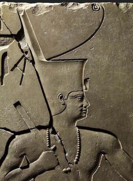 (detail; Egyptian, Middle Kingdom, Dynasty 12, reign of Senwosret I, c. 1961–1917 BC).