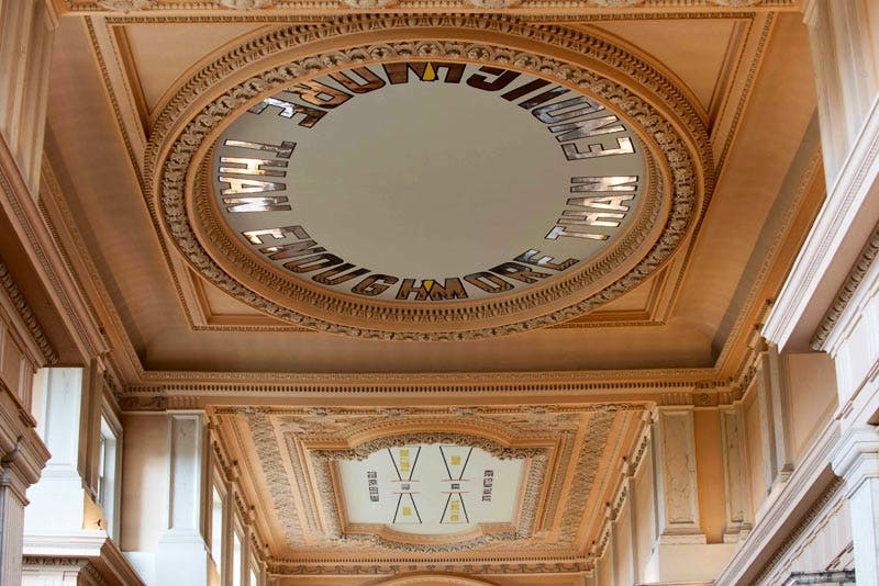 (2015), 'Lawrence Weiner: Within a Realm of Distance' at Blenheim Palace.