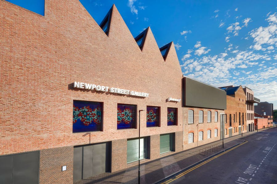 Damien Hirst's Newport Street Gallery, one of 46 buildings recognised in this year's RIBA Awards.