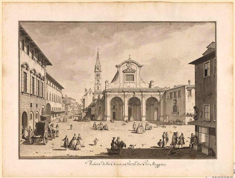 (1744), Giuseppe Zocchi (1711–67), pen and black ink, with grey wash, on paper, 46.6×66.8cm.