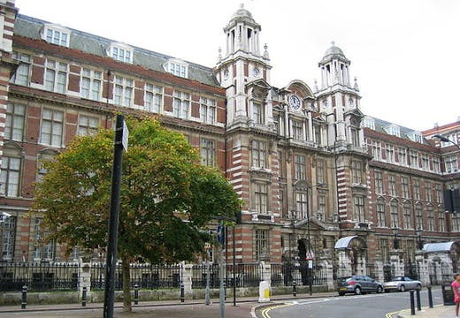 Blythe House in west London, where the British Museum currently holds some 2,000 objects in storage.