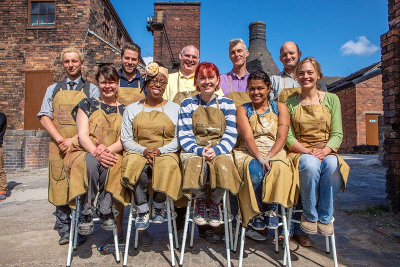 Matthew, Joanna, James, Sandra, Nigel, Jane, Jim, Tom, Rekha, and Sally-Jo battle it out to become Britain's best amateur potter