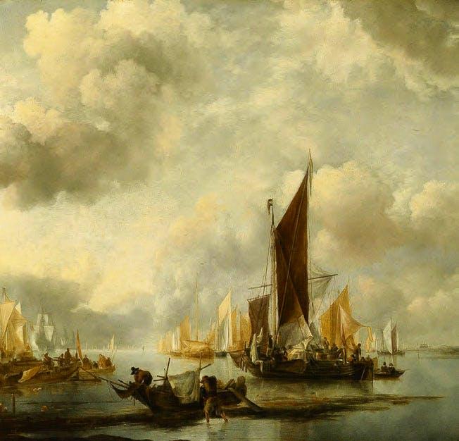 by Jan van de Cappelle (c. 1624/5–79)