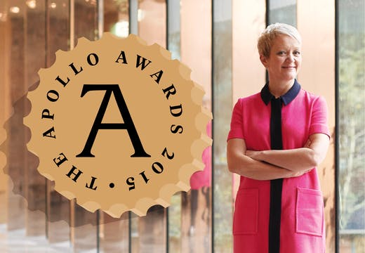 Apollo Awards: Personality of the Year: Maria Balshaw