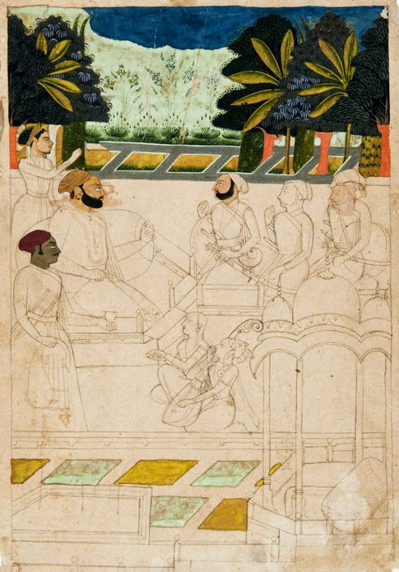 (c. 1720–30, with later additions), India (Jodhpur or Bikaner, Rajasthan)