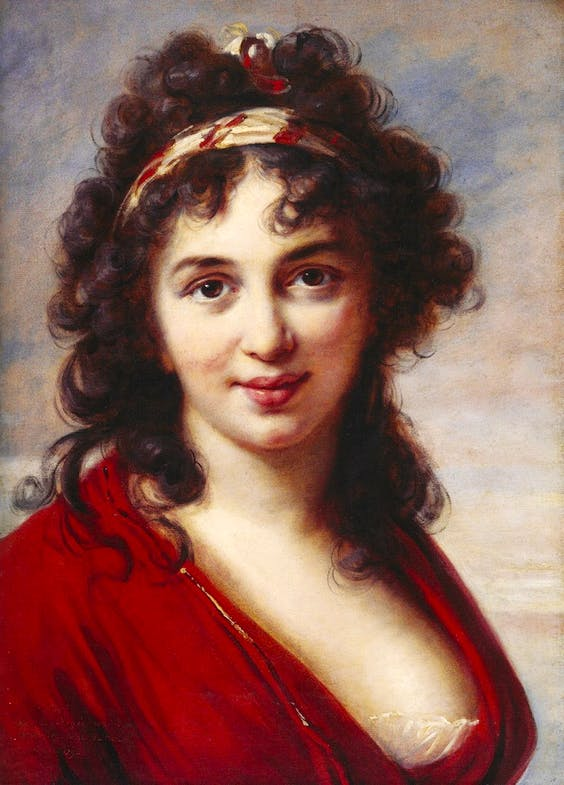 (May-June 1792), Elisabeth Louise Vigée Le Brun.
