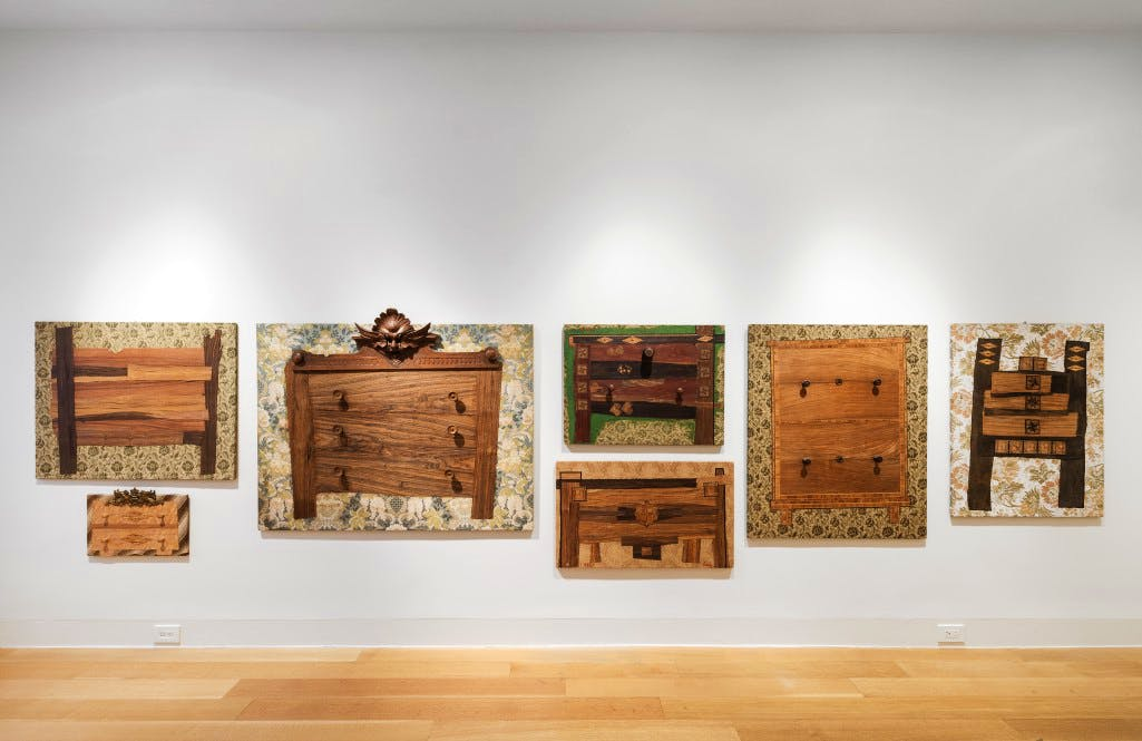 , Enrico Baj, installation view at Luxembourg & Dayan, New York, 2015