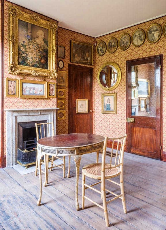 Mrs Soane's Morning Room at Sir John Soane's Museum, London