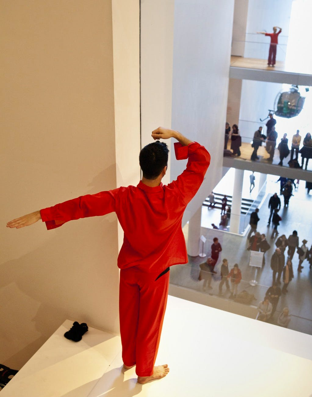 2011, Trisha Brown Dance Company at the Museum of Modern Art, New York