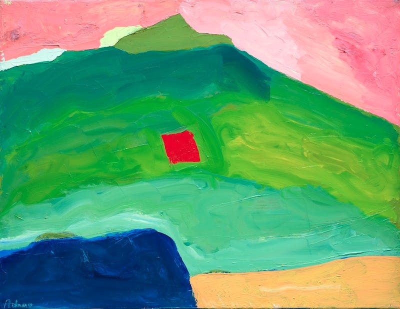 Untitled (c. 1995–2000), Etel Adnan.