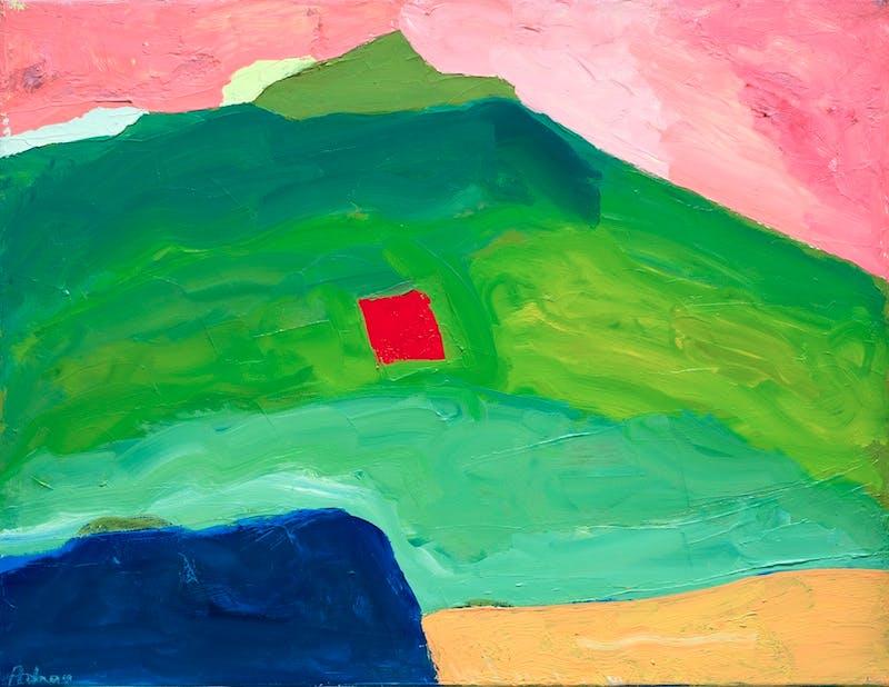 Untitled (c. 1995–2000), Etel Adnan.