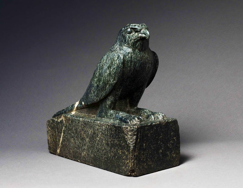 Granodiorite Falcon (4th century BC), Egyptian Late Period.