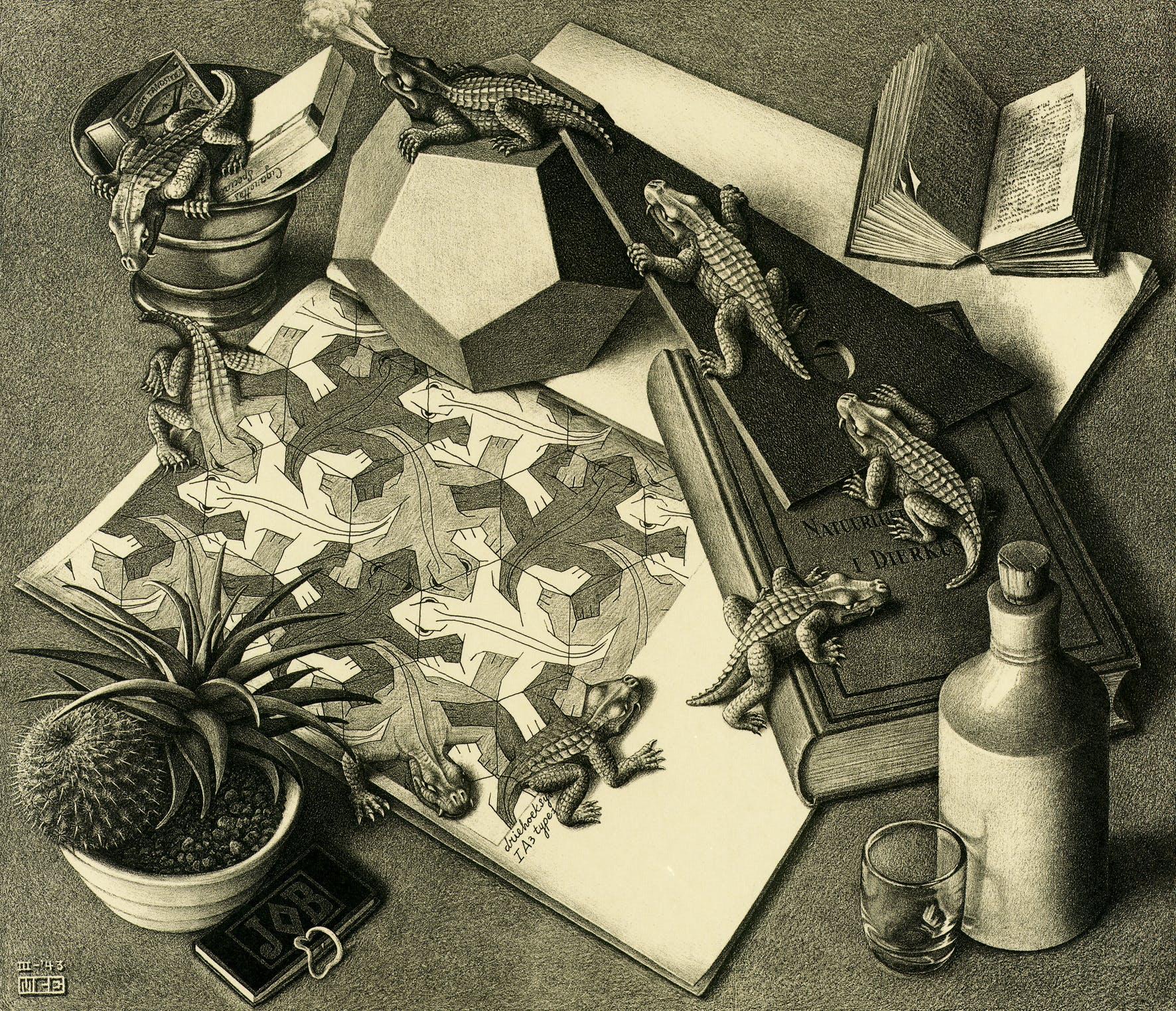 1943, Maurits Cornelis Escher