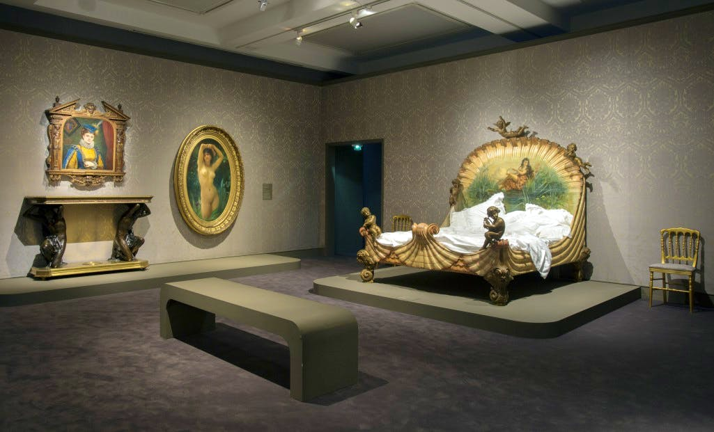 Installation view of 'Splendour and Misery' at the Musée d'Orsay
