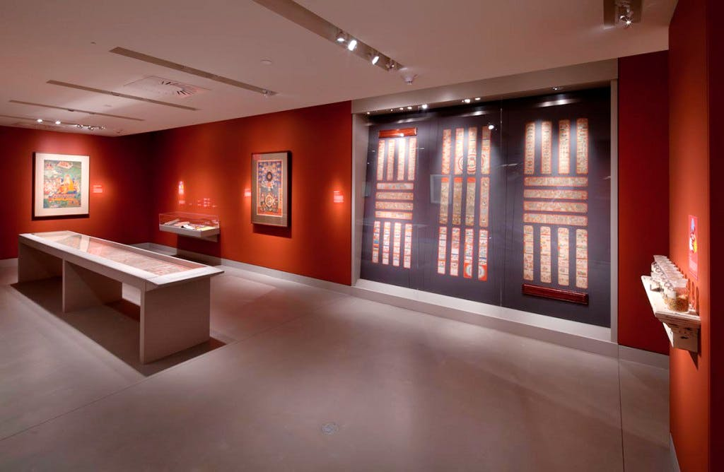 in the exhibition 'Bodies in Balance' at the Rubin Museum of Art.