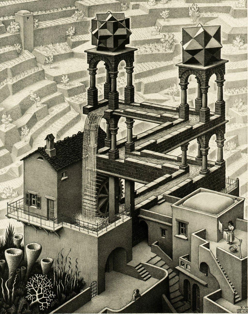 1961, Maurits Cornelis Escher