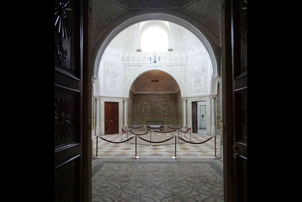 The chorus of the harem (former 'Virgil's Hall') at the Bardo National Museum, Tunis