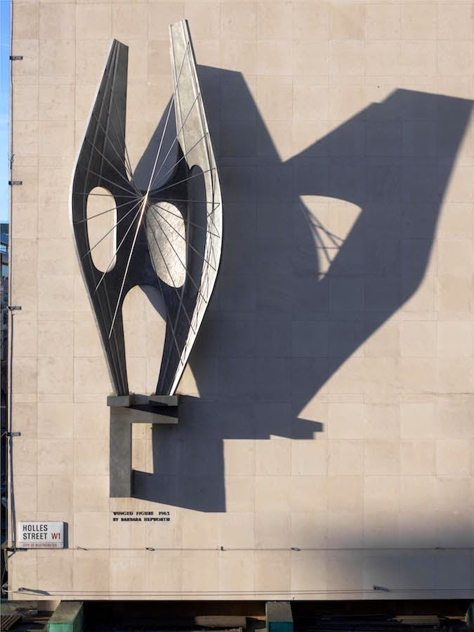 Winged Figure, 1963, Barbara Hepworth