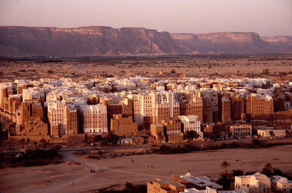 The high-rise architectures at Shibam, Wadi Hadhramaut (or Hadhramout, Hadramawt) Yemen by Jialiang Gao