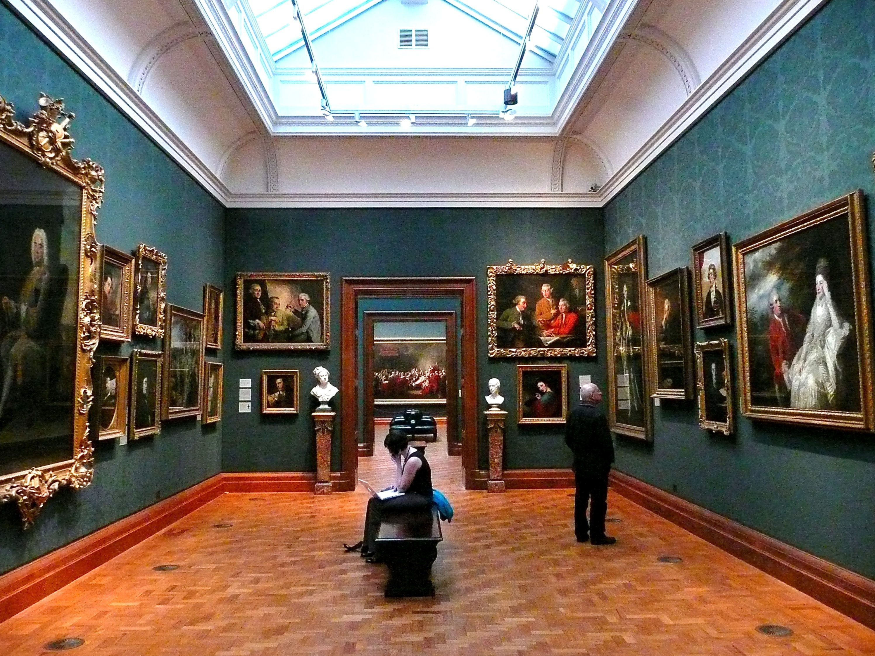art gallery dating london