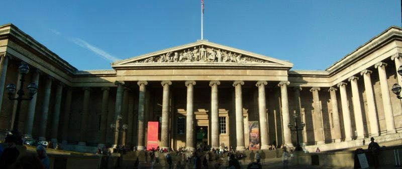 Figures released by DCMS indicate a significant drop in UK museum visitor numbers for 2015-16 . Wikimedia Commons