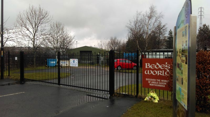 The recent closure of Bede's World in Jarrow was partly due to lack of funds.