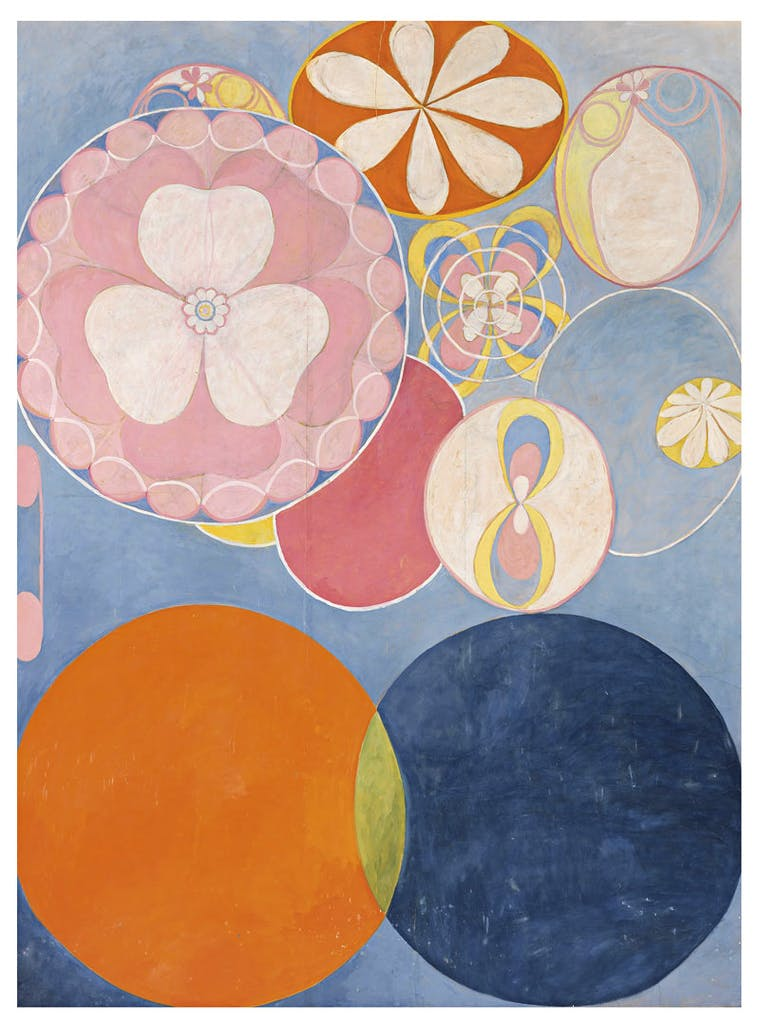 Group IV, No. 2. The Ten Largest, Childhood (1907), Hilma af Klint. Photo: Moderna Museet / Stockholm