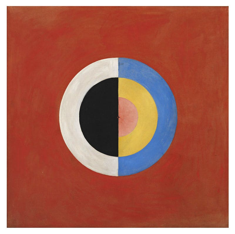Group IX/SUW, No. 17. The Swan, No. 17, by Hilma af Klint.