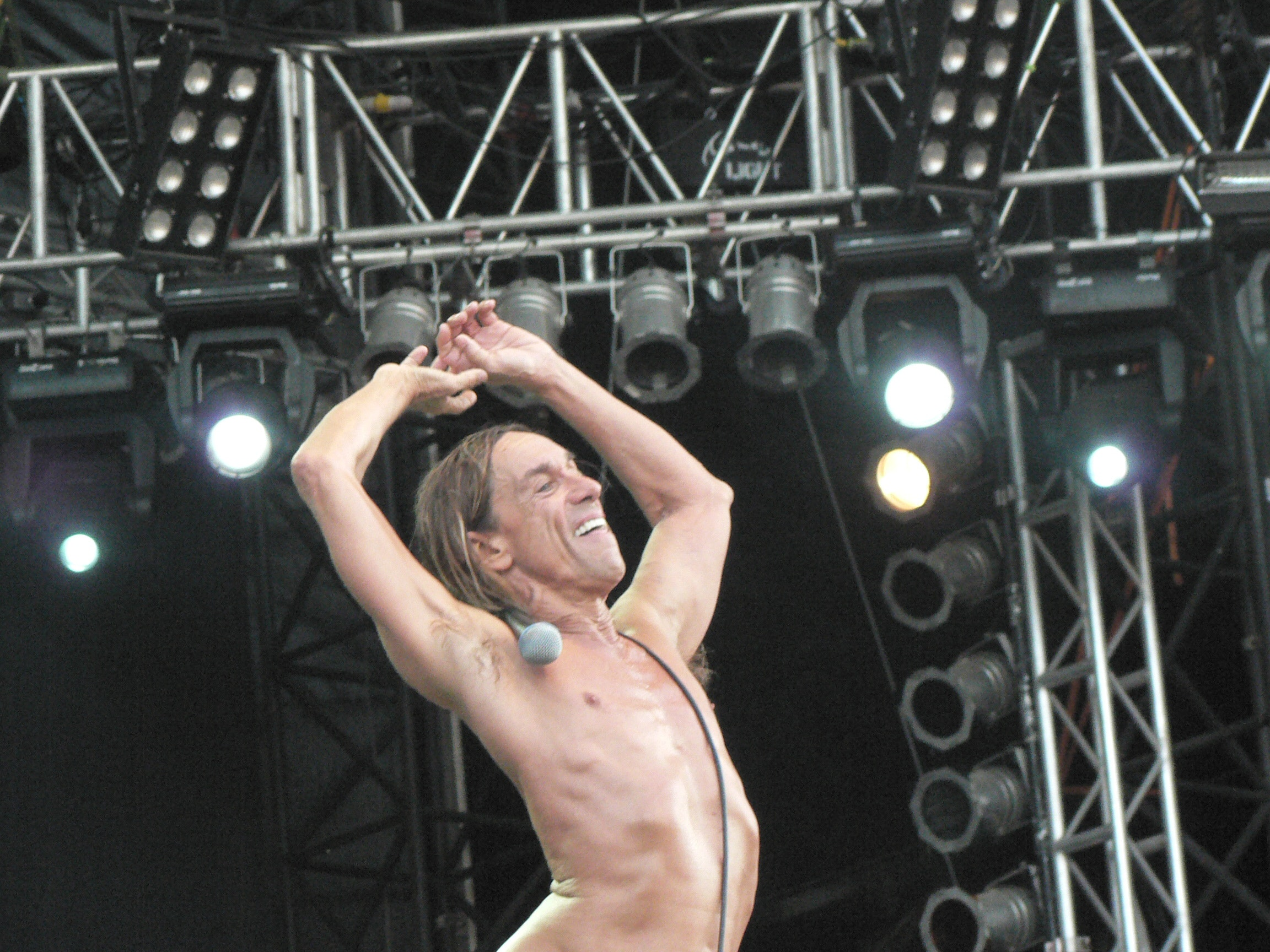 68-year-old Iggy Pop did not hesitate to become a nude model 03/01/2016 15