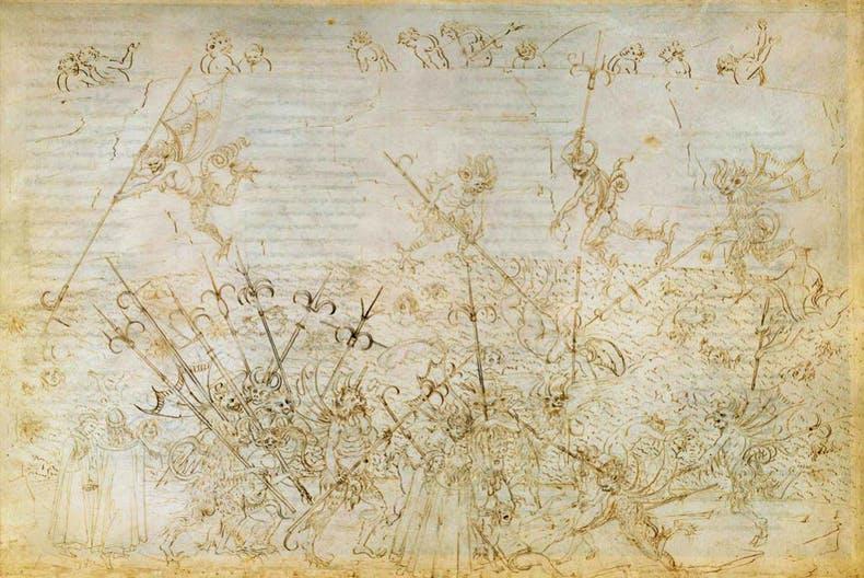 (c. 1481–95), Sandro Botticelli.