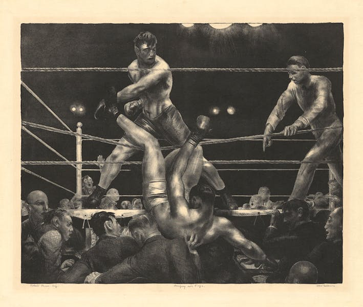Dempsey and Firpo (1923-24), George Bellows.
